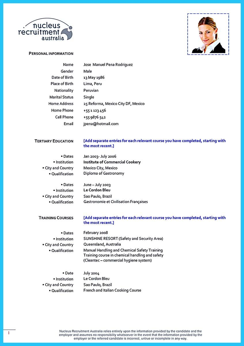 Cook Resume Sample Cool Excellent Culinary Resume Samples To Help You Approved