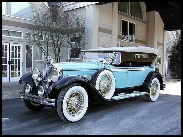 1929 Packard 640 Phaeton Packard Motor Car Company Detroit