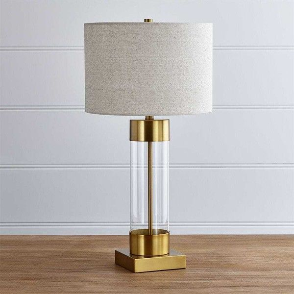Crate barrel avenue brass table lamp with usb port 170 liked crate barrel avenue brass table lamp with usb port 170 liked on polyvore featuring home lighting table lamps brass lighting polished brass aloadofball Images