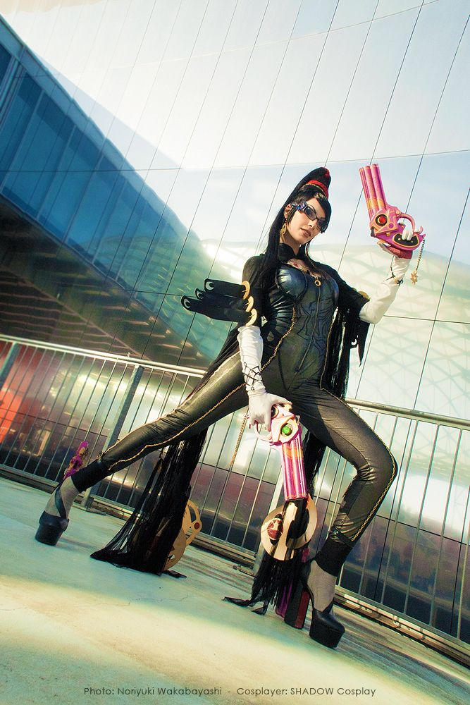Bayonetta cosplay by Daelyth on deviantART