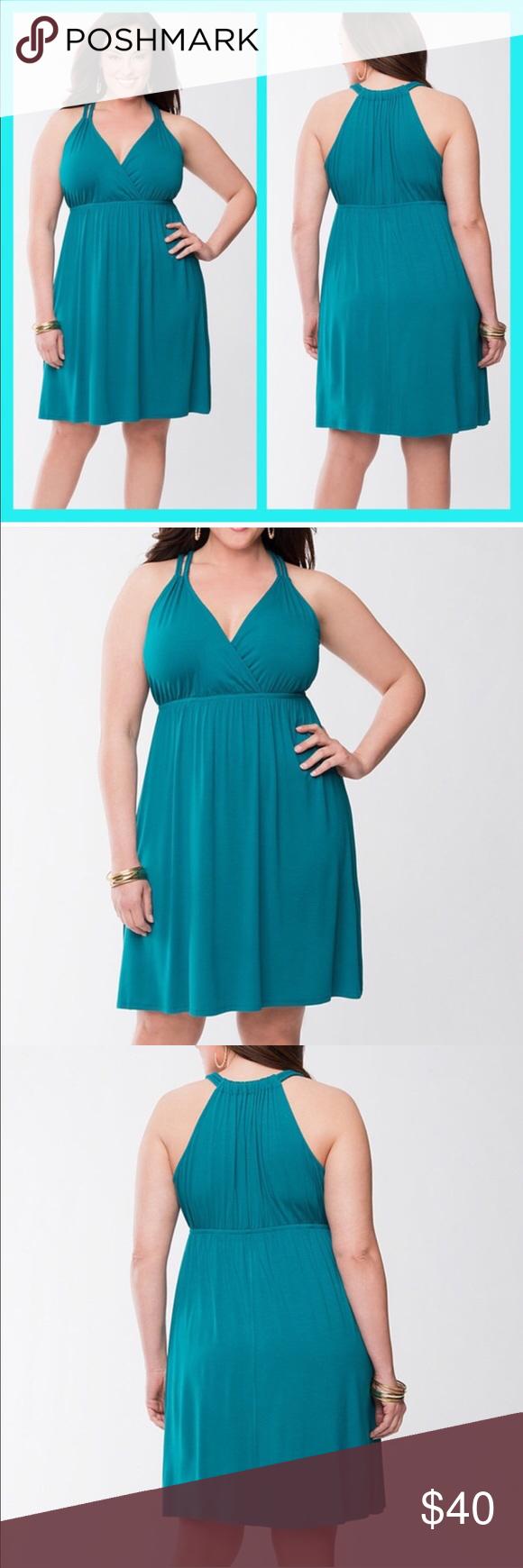 Lane Bryant Teal Summer Dress Size 14 Teal Summer Dresses Summer Dresses Fashion [ 1740 x 580 Pixel ]