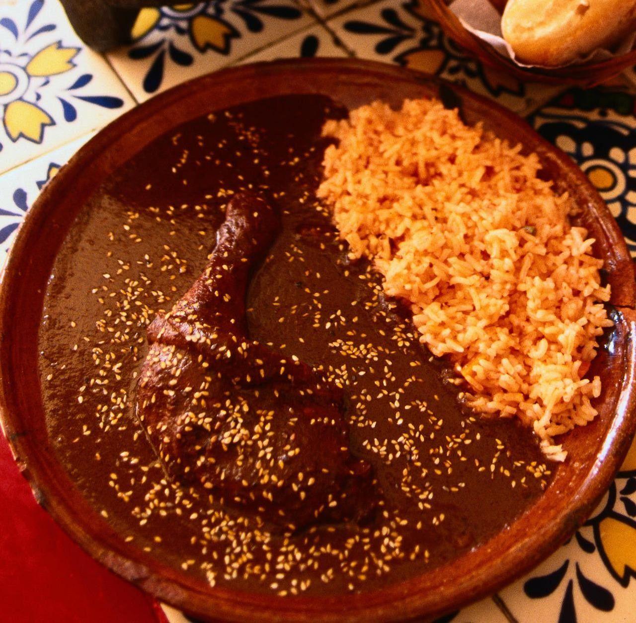 Best Chicken Mole Recipes: Worth It: 21-Ingredient Chicken Mole