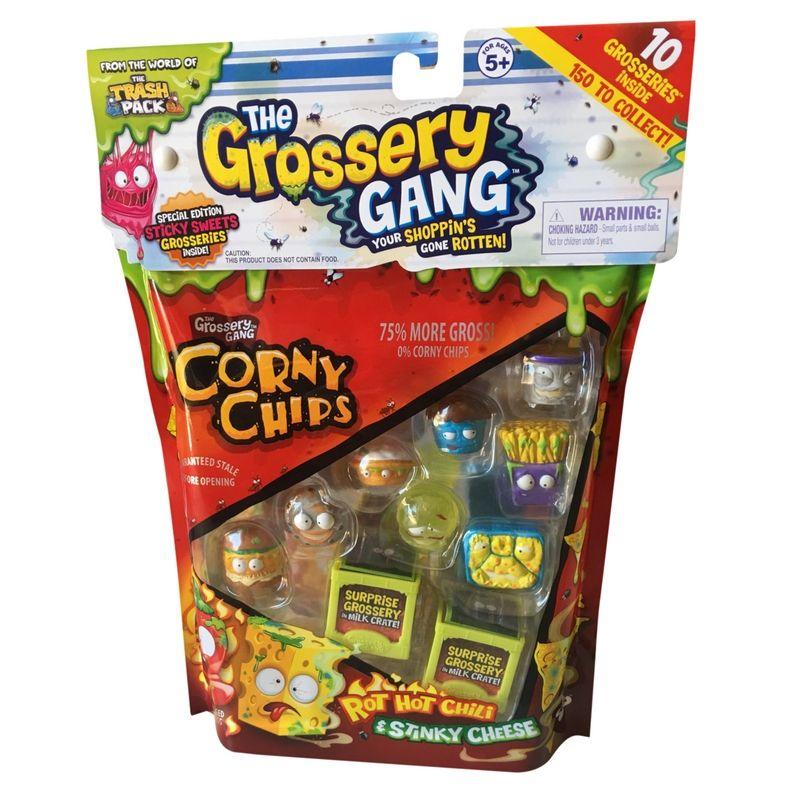 Grossery Gang Season 1 Corny Chips 10 Pack