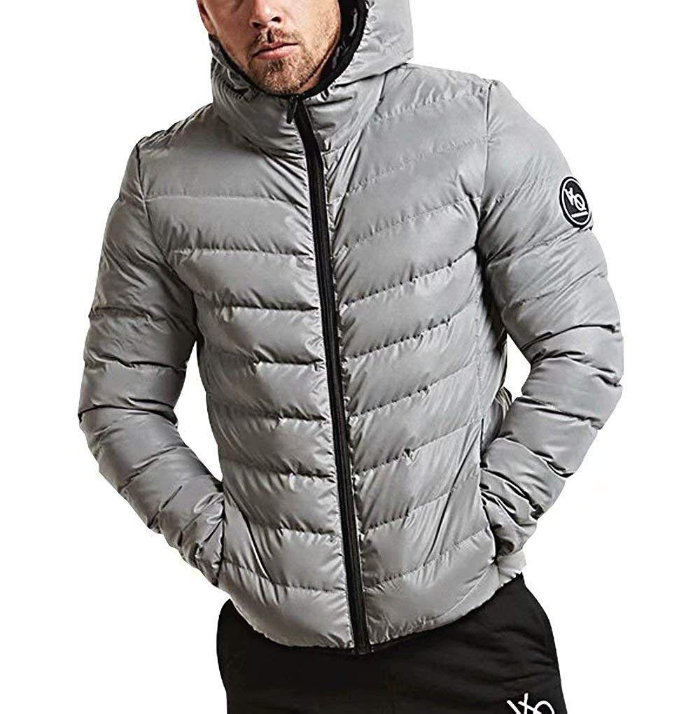 Men S Down Coat Premium Puffer Jacket Hooded Packable Lightweight Cotton Winter Warm Upgrade Outwear Windbreaker Cz18i8gi3gs Mens Outdoor Clothing Outdoor Outfit Anorak Jacket Winter [ 1020 x 1000 Pixel ]