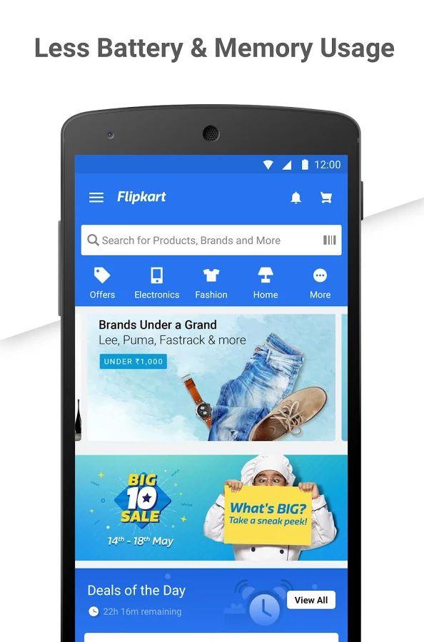 Flipkart Online Shopping App Get The App Now Online