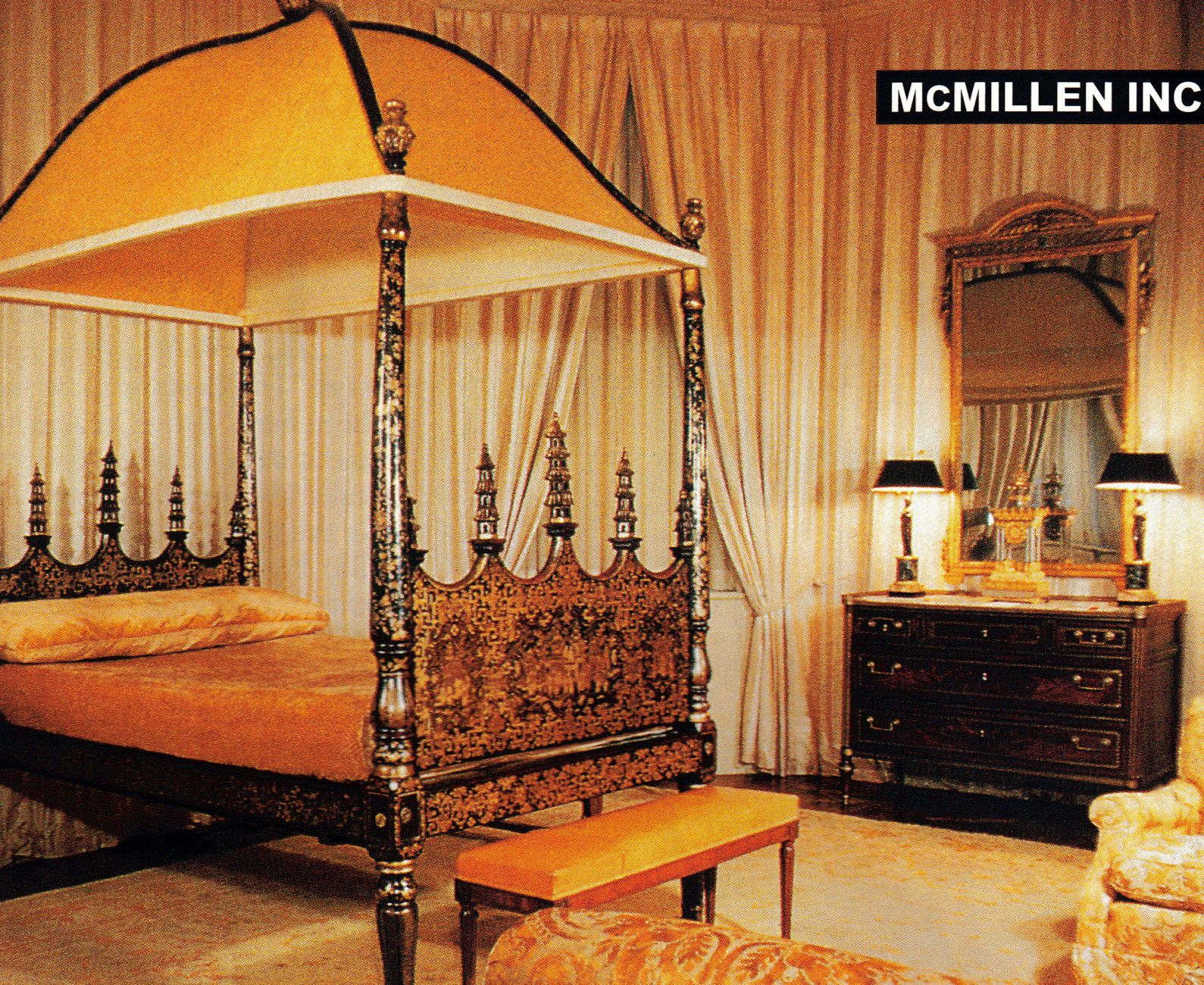 New York bedroom by McMillen Inc mid1960s Reprinted in AD 0101