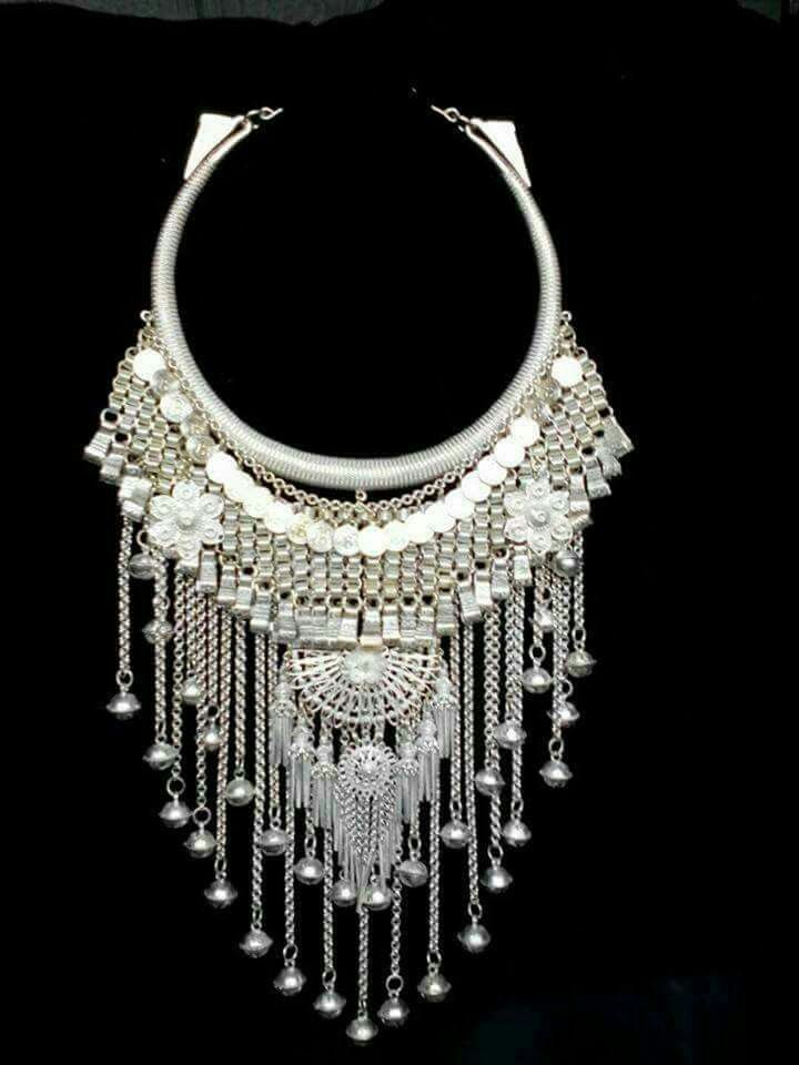 Hmong necklace   Hmong in 2019   Hmong people, Ethnic