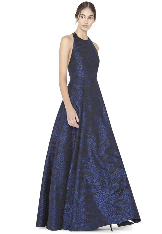 63a6904b4470 TEIFER GOWN by Alice + Olivia