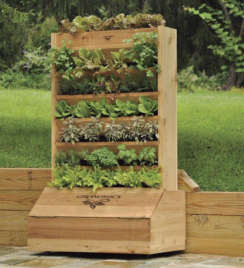 Wonder If I Can DIY This ... Cedar Vertical Garden With