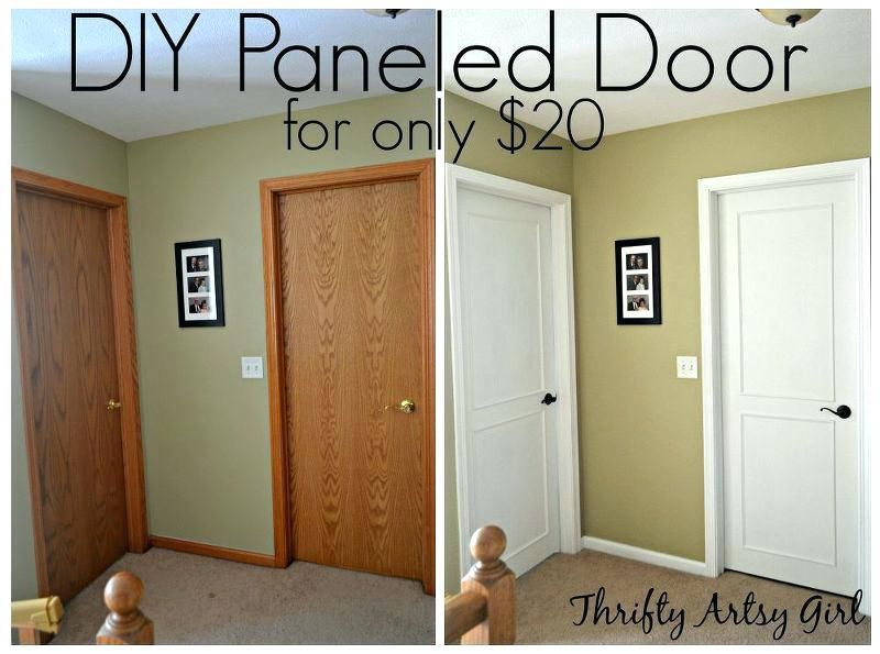painting interior wood do this to your boring doors to ...
