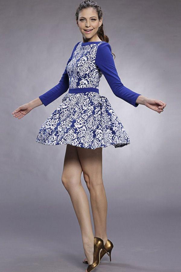 retro-floral-a-line-dress
