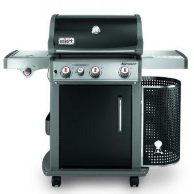 Barbecue a gas weber spirit premium e 230 black voglia for Barbecue weber gaz q120