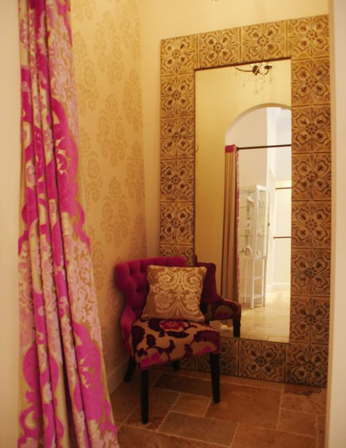 Boutique Dressing Room Ideas | ... fabrics and texturesand how fun is
