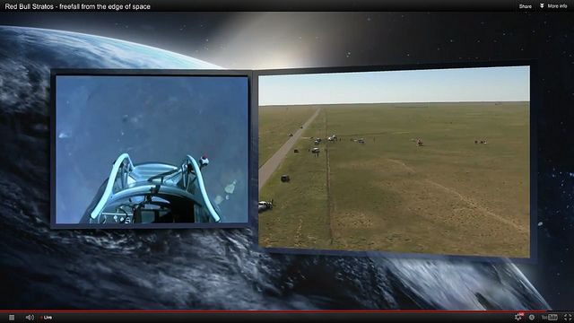 #LiveJump   #felix baumgartner space jump 70 http://babycoupon.biz/halloween/ Felix Baumgartner Freefall from space Record Broken