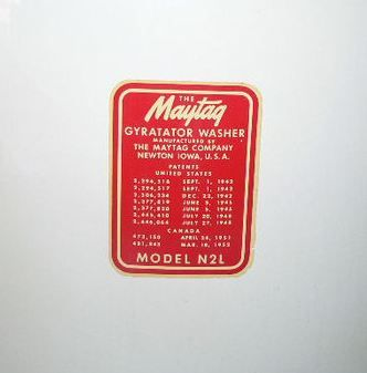 Vintage Maytag washer up for bid this Thursday 6/27 - www.atakc.com