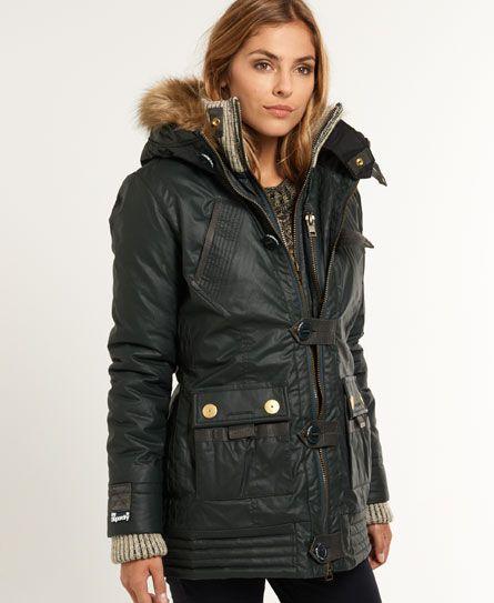www.superdry.com Superdry Alpine Duffle | Winter Coats | Pinterest ...