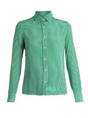 Striped silk-crepe shirt | Stella Jean | MATCHESFASHION.COM