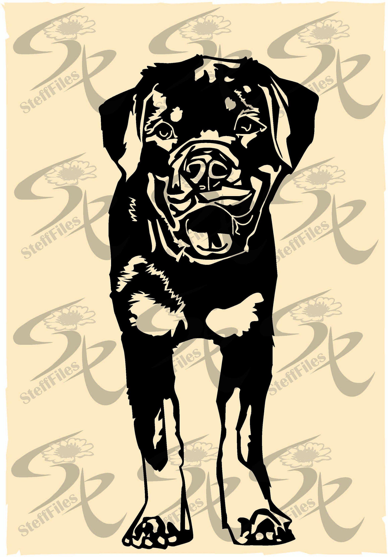 ausmalbilder hunde rottweiler  tiffanylovesbooks
