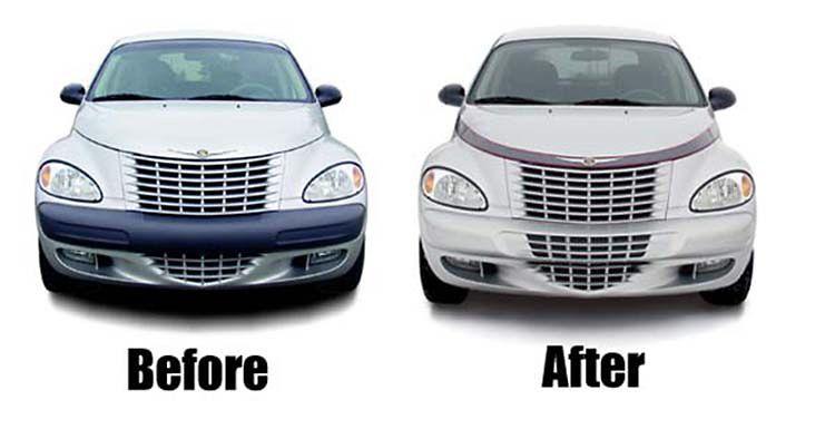 Pt Cruiser Bumpers : Chrysler pt cruiser not gt turbo custom front