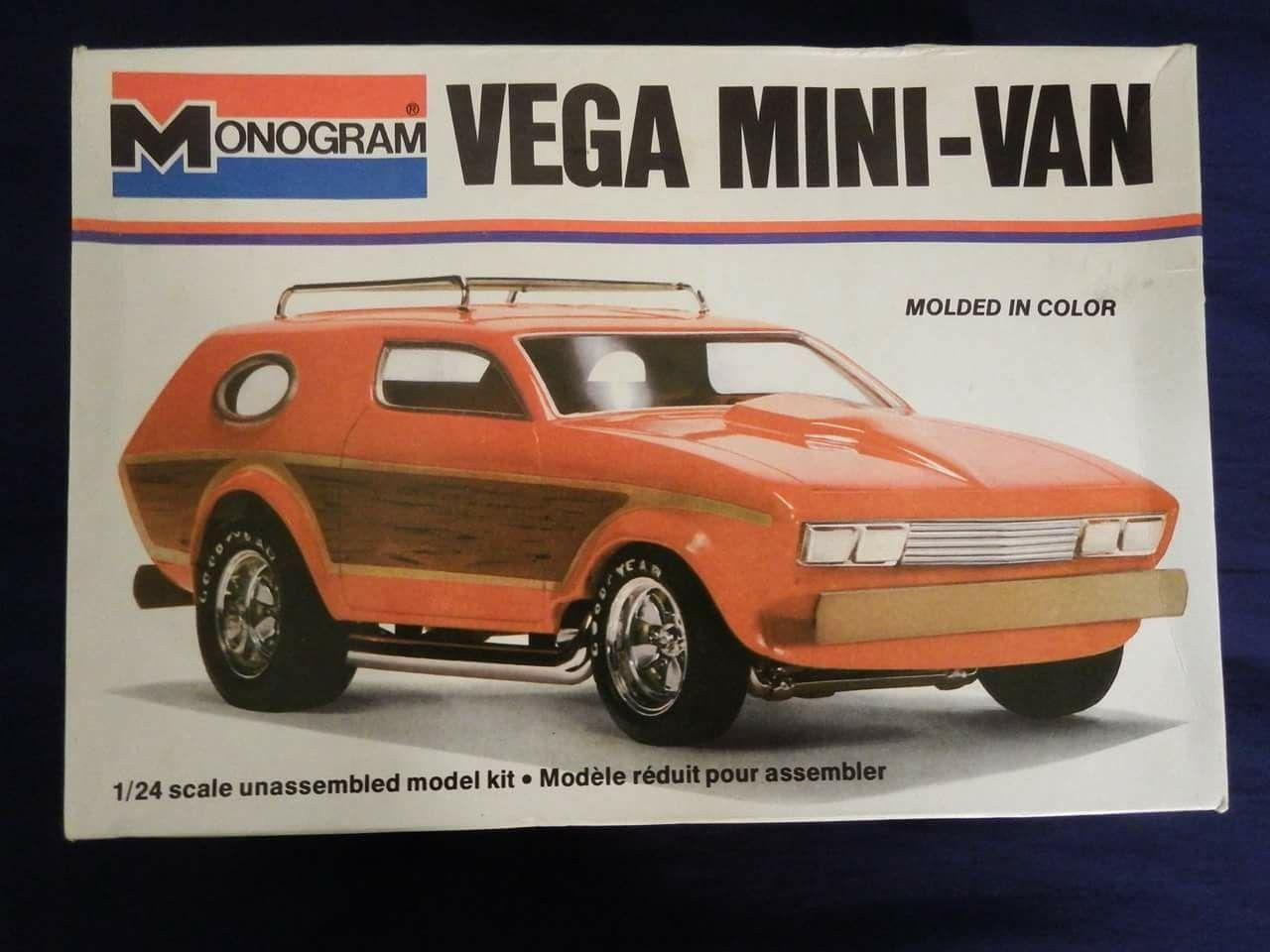 Image result for monogram vega minivan model kit