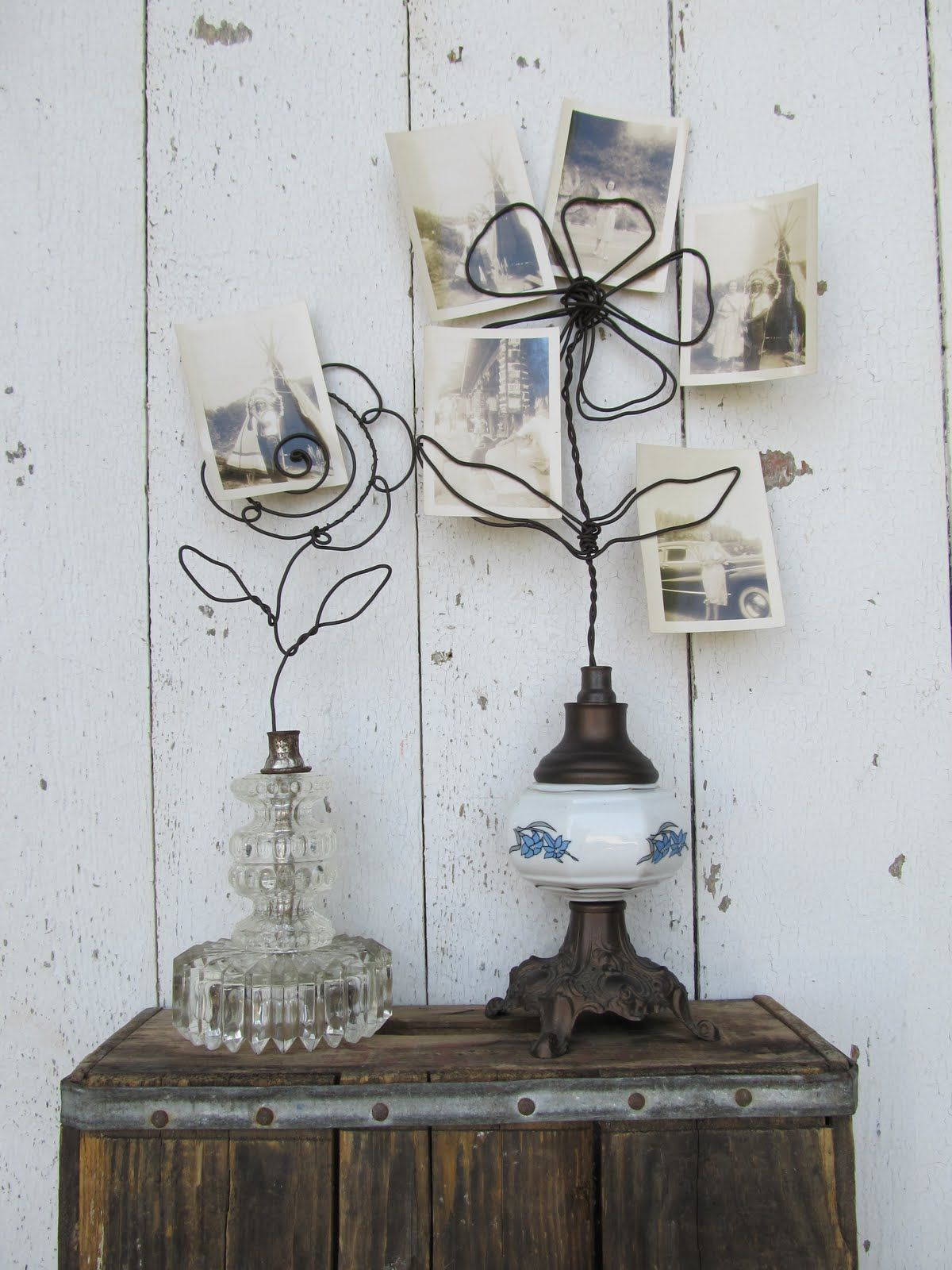 trash to treasure! antique oil lamps reclaimed