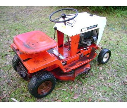 Vintage Sears Craftsman Riding Mower Is A Lawn Garden Patios For In Bunnell Fl