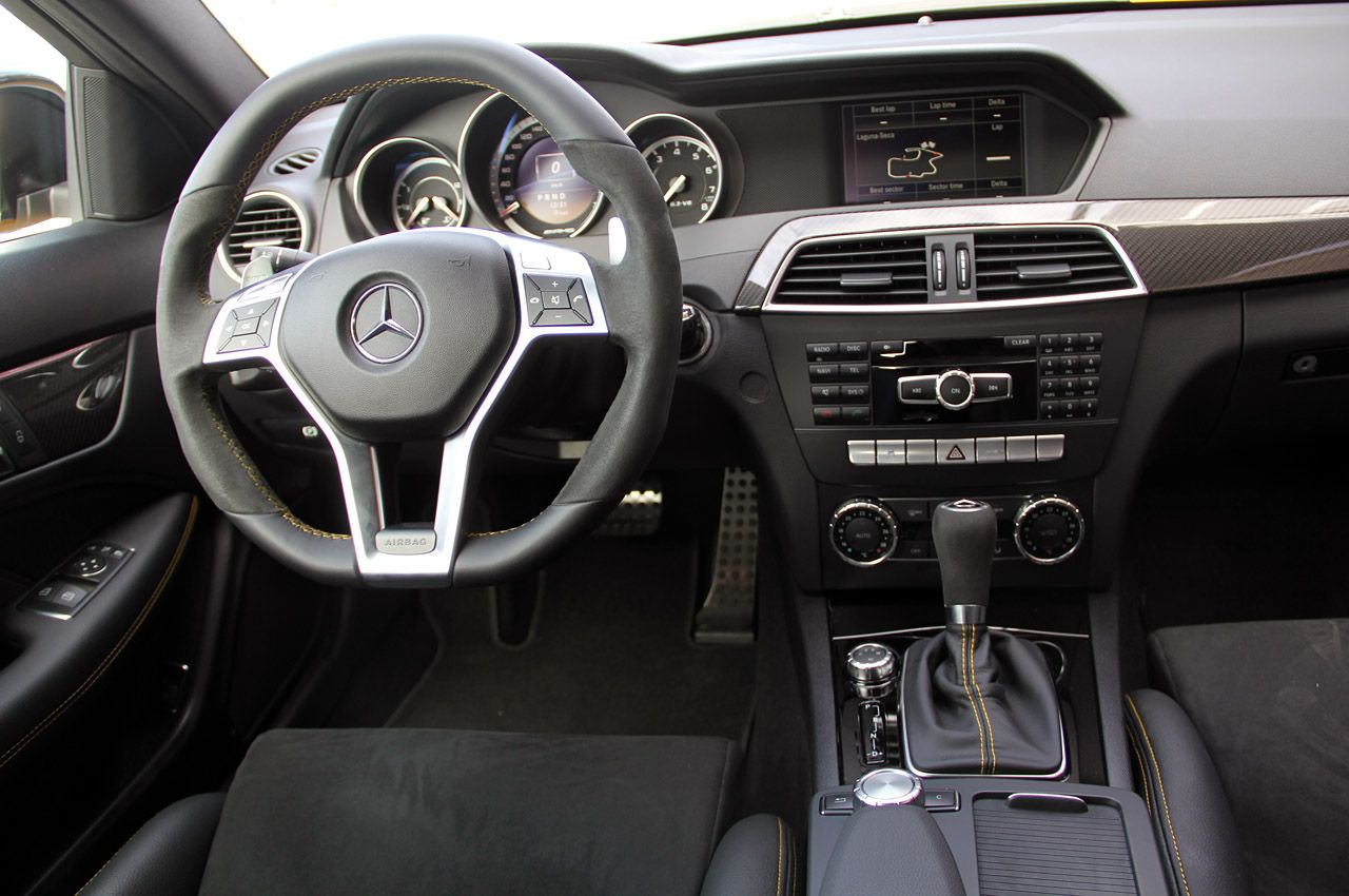 Interior AMG Black Series C63 Coupe | Dream Cars/ Cars | Pinterest ...