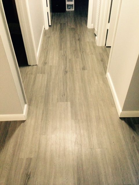 2mm Luxury Vinyl Planks In Savannah Oak Installed A Private Condo