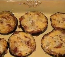 Grilled Low Carb Eggplant Pizza Bites Recipe Video by lowcarb360 | ifood.tv