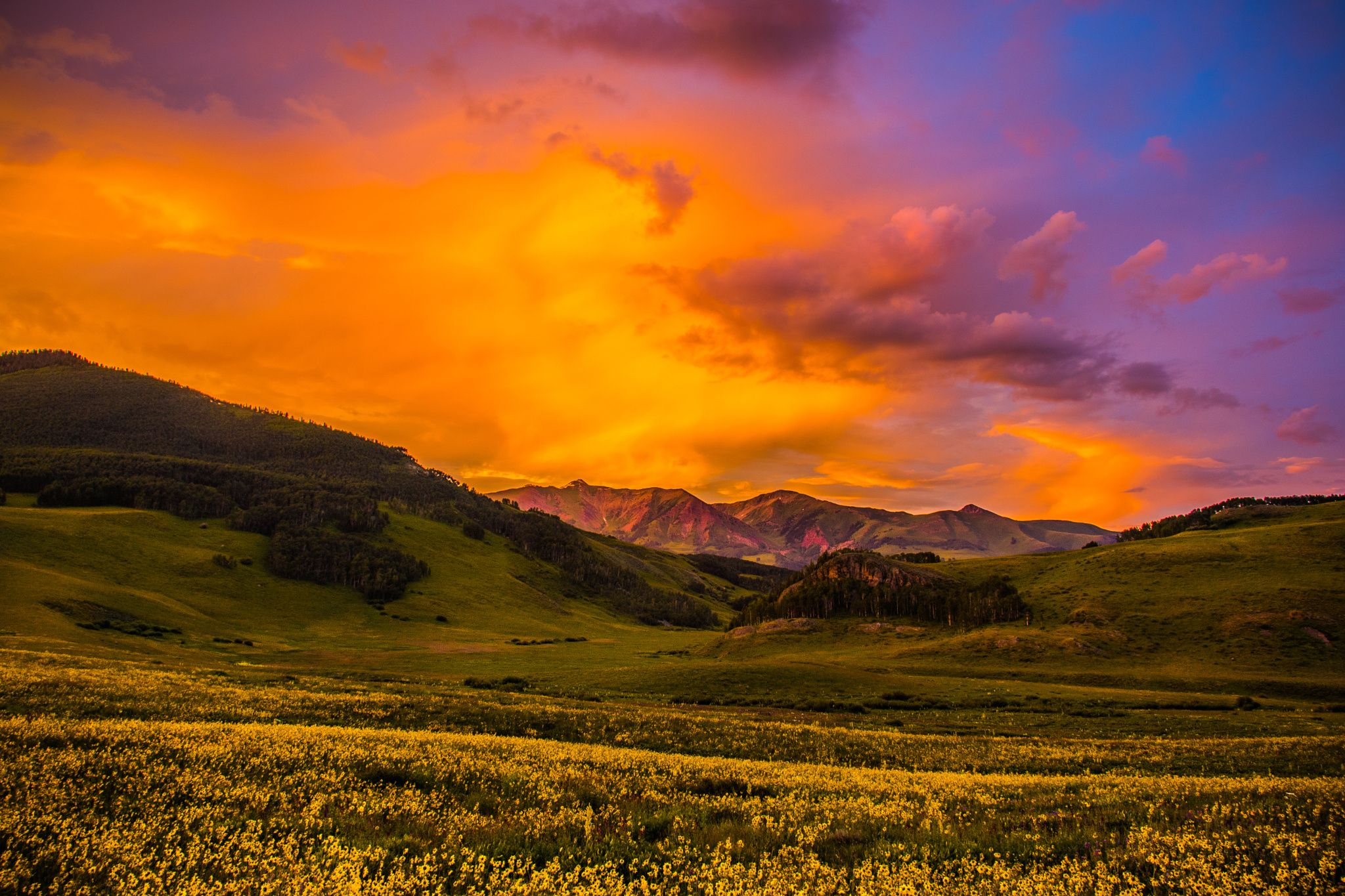 Crested Butte Sunset by Stephen K. Miller on 500px ...