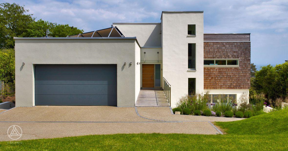Design holzhaus  Design-Holzhaus Griffen | home | Pinterest | Baufritz, Geplant und ...
