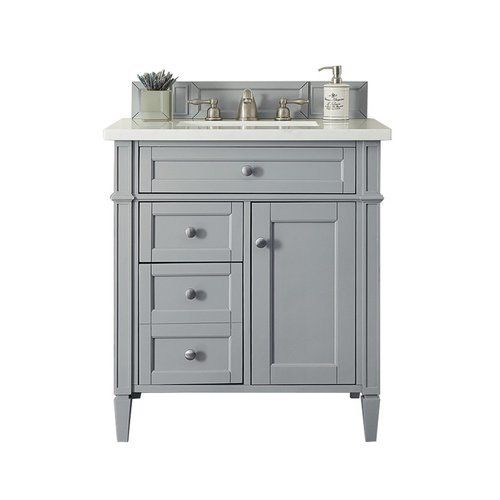 James Martin 30 Inch Brittany Single Sink Vanity Urban Gray 650