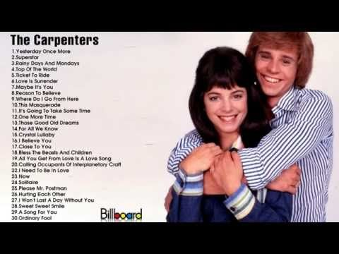 ▷ Best Songs of The Carpenters || The Carpenters's Greatest