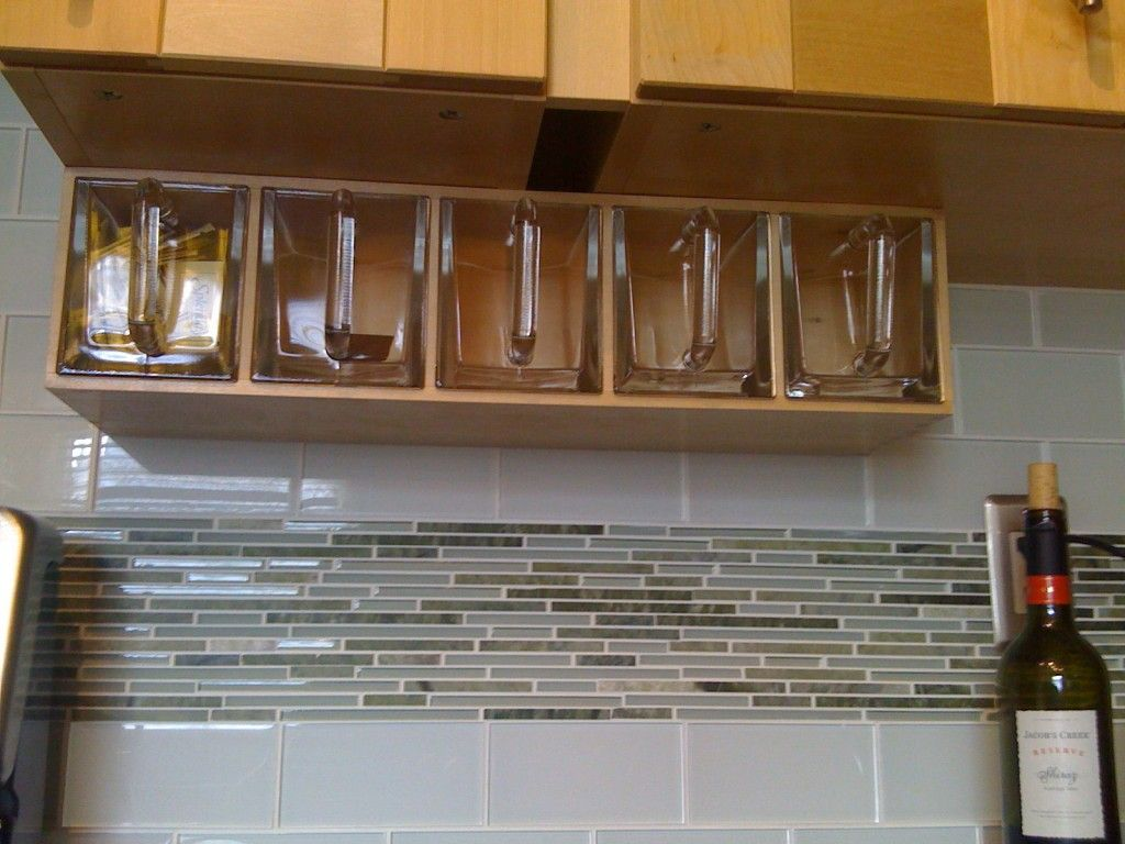Better Photo Of The Under Cabinet Storage For Flour Etc. Click On Picture To