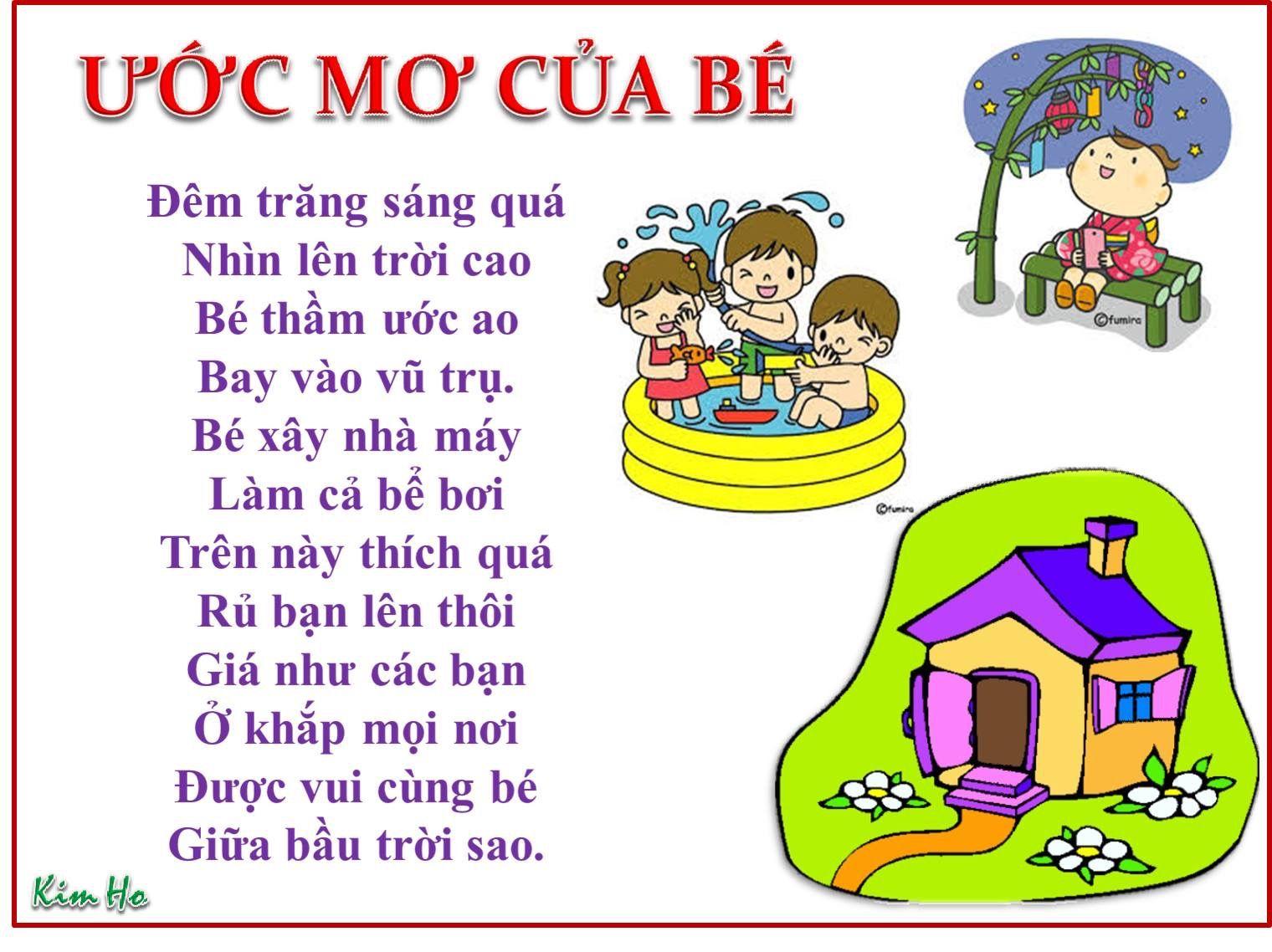 Ghim của Thanh Thuy Ha trên Thơ cho bé Giáo dục, Học tập