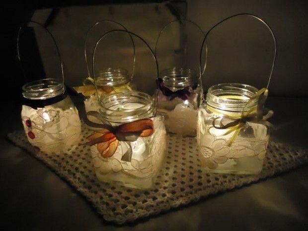 25 idee originali per riciclare barattoli di vetro - Idee per riciclare ...