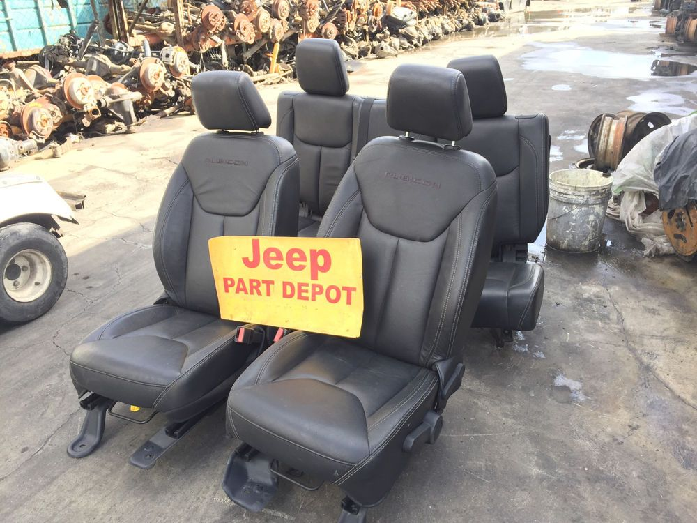 2014 Jeep Wrangler Jku Factory Oem Front And Rear Seats Complete Assembly Mopar Ebay Motors Parts Amp Accessories Jeep Wrangler Mopar 2013 Jeep Wrangler