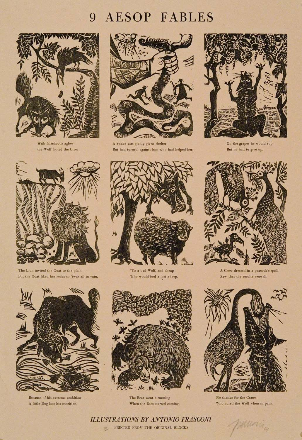 Nifty image pertaining to aesop's fables printable