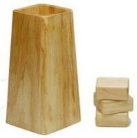 Solid Oak Bed And Furniture Raisers Furniture Risers Dorm Bed Risers Diy Bed Risers