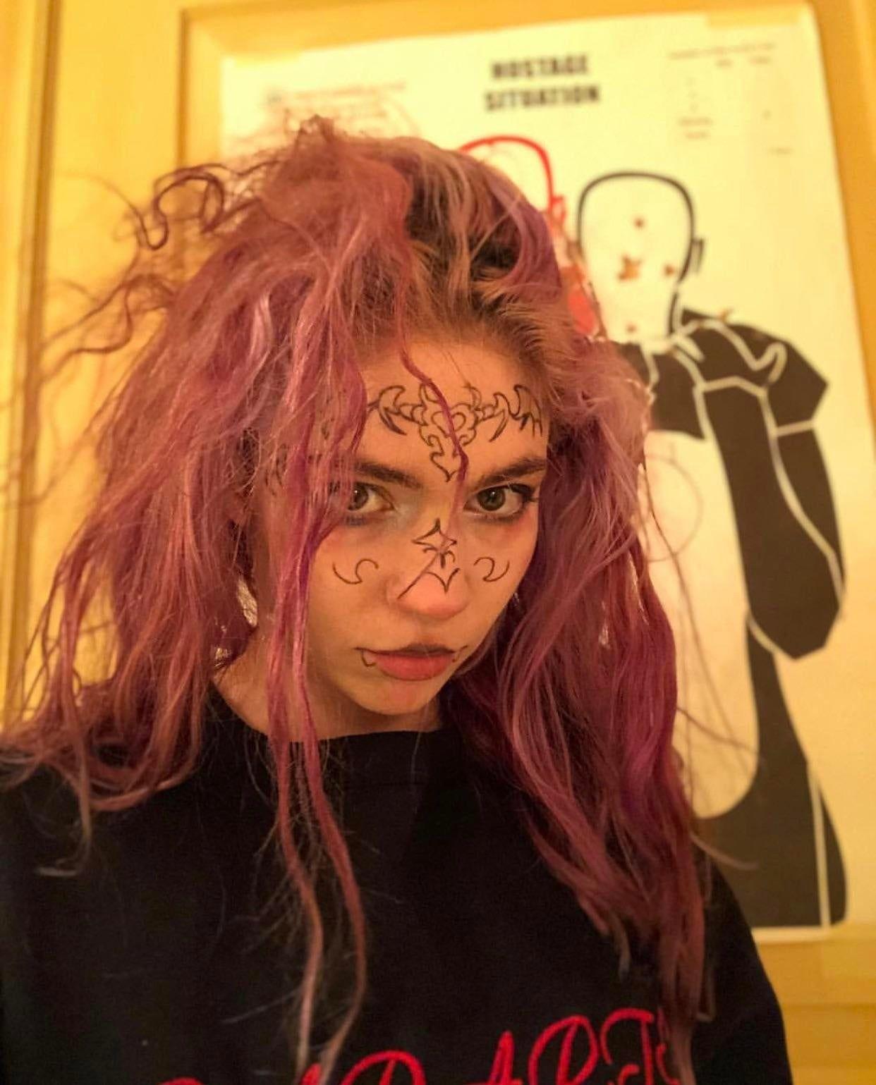 Miss_Anthrop0cene Grimes Grimes, Claire boucher, Face