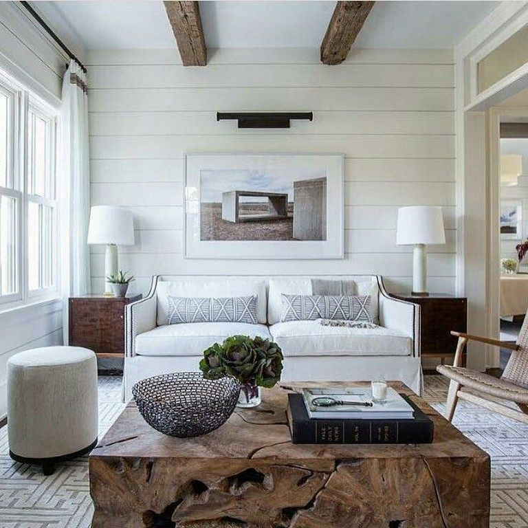 46 Stunning Rustic Living Room Design Ideas: 45+ BEAUTIFUL RUSTIC COASTAL LIVING ROOM DESIGN IDEAS