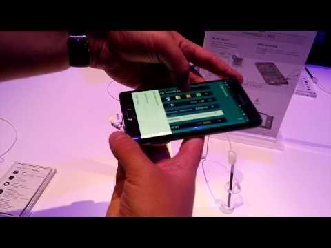 Galaxy Note Edge hands-on @ IFA 2014