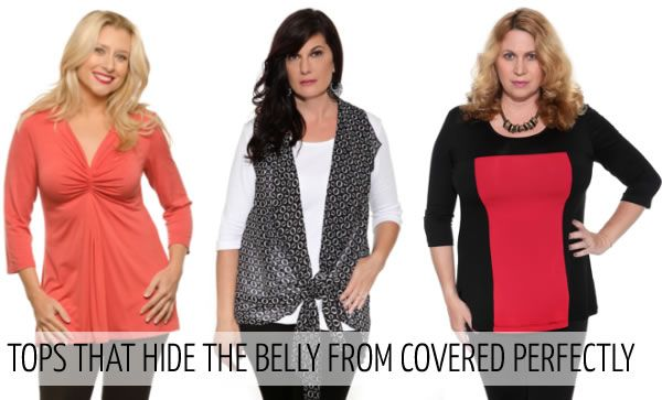 accfcc8db1c How to hide your belly with fabulous clothes – no need to let everyone know  you have a tummy!