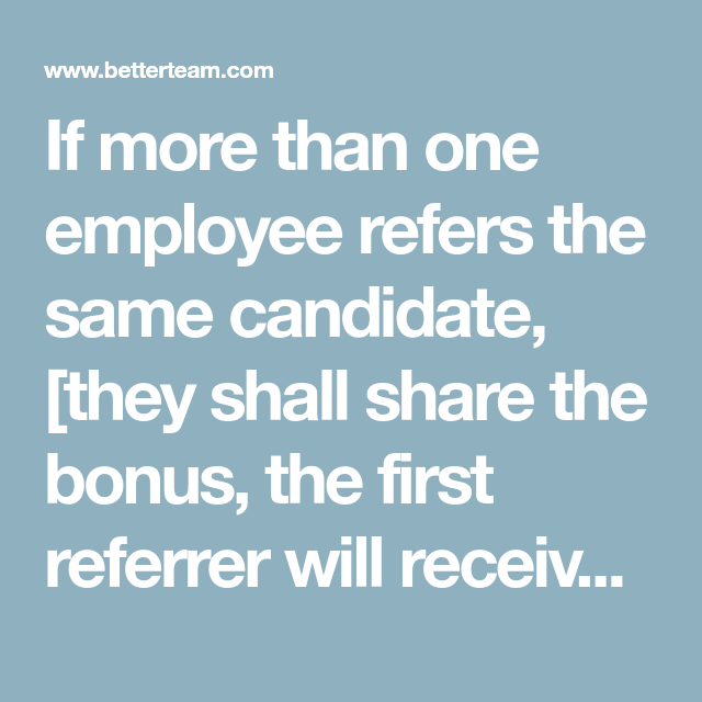 referral policy sample