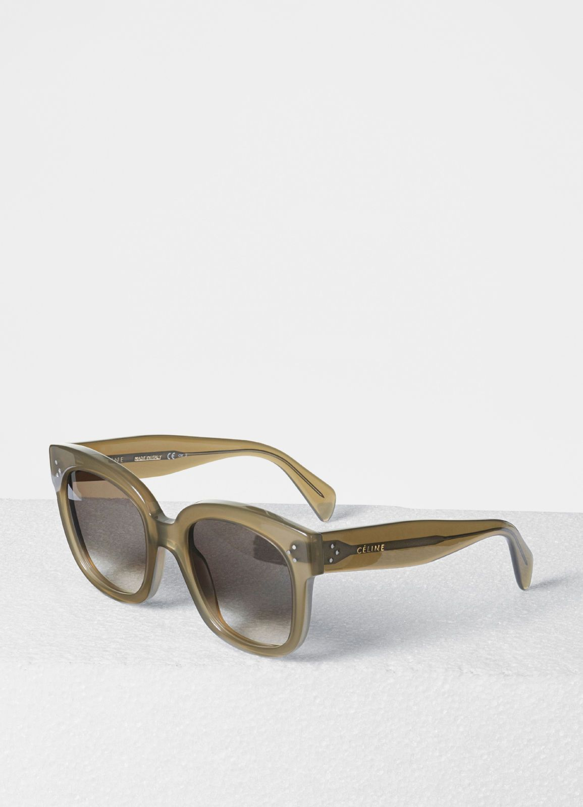 27ae435772d2 Oversized Sunglasses in Acetate - Sunglasses