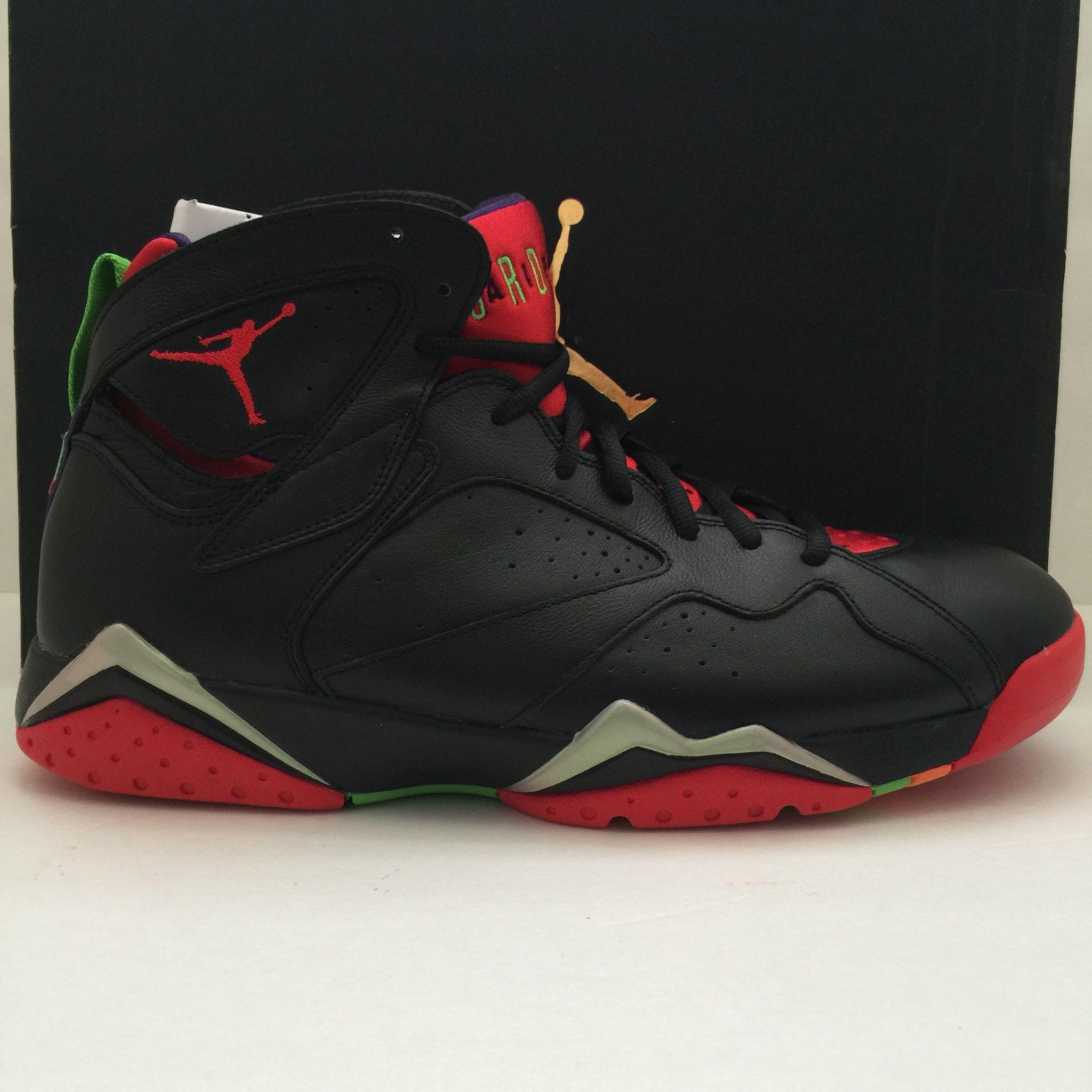 "Name Nike Air Jordan 7 Retro ""Marvin The Martian"" Size"