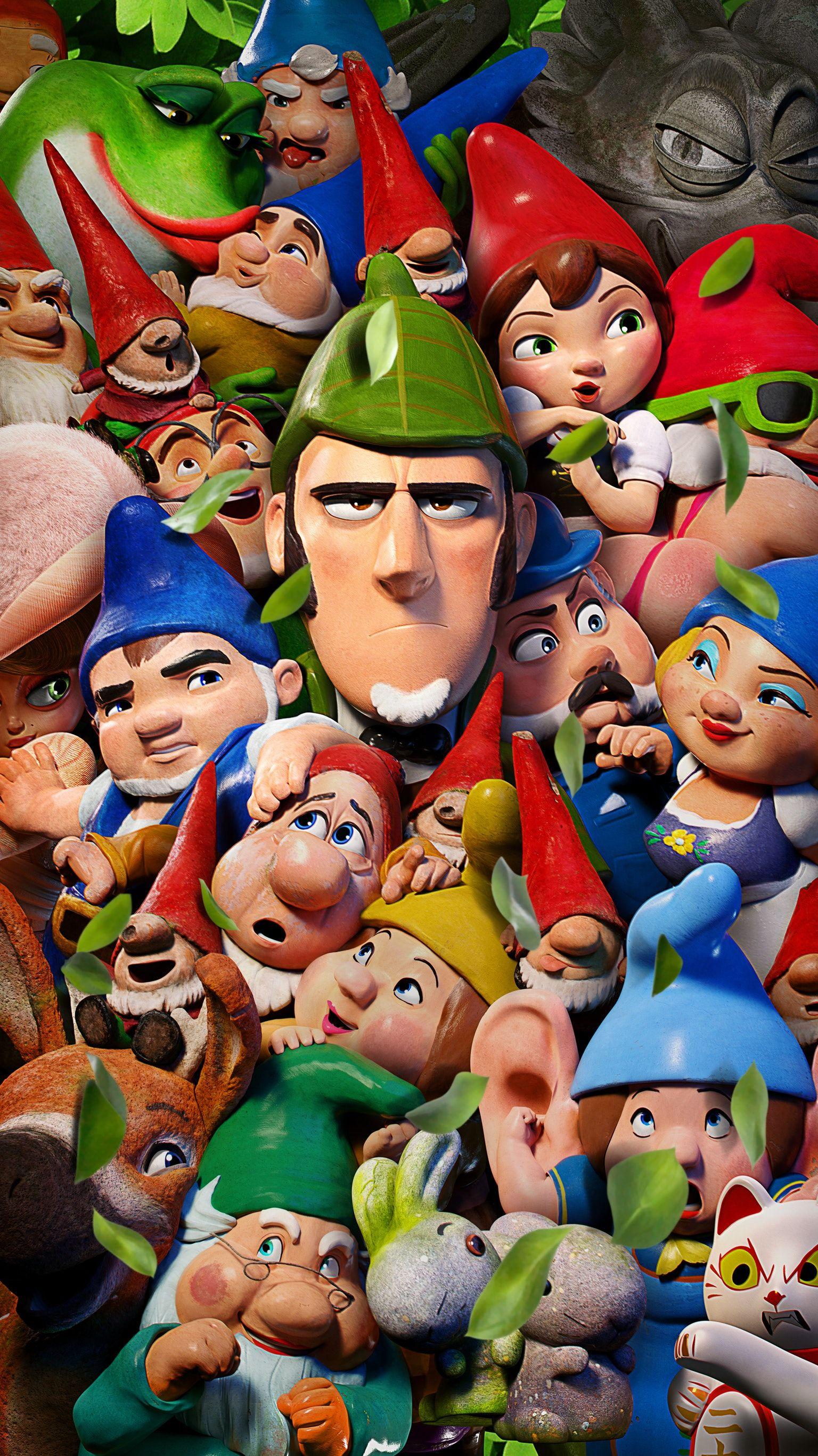 Sherlock Gnomes 2018 Phone Wallpaper Moviemania Animated Movies Sherlock Anime Movies