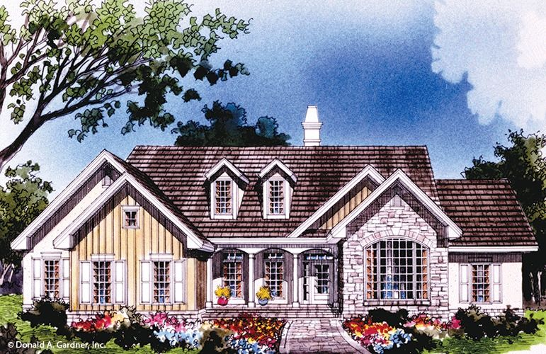 Good The Pine Ridge House Plan (add A Lg Pantry Off The Kitchen, Enlarge Garage