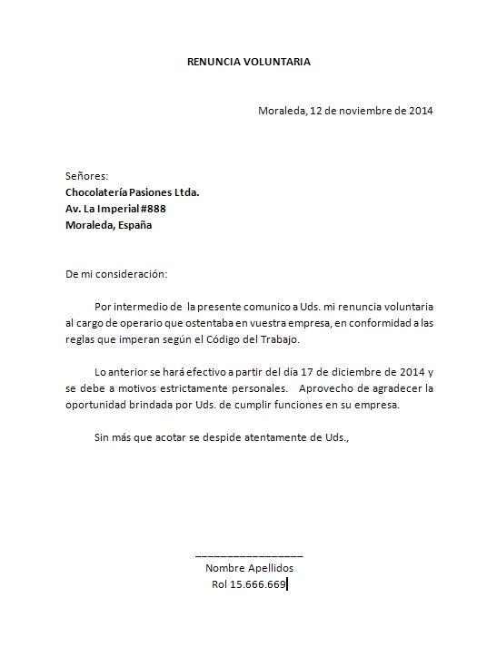 plantilla carta renuncia word renuncia Pinterest Microsoft word - microsoft word resignation letter