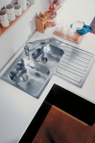 Wonderfully Inspired Small Kitchen Ideas Franke Corner Sink Kitchen Corner Sink Sink